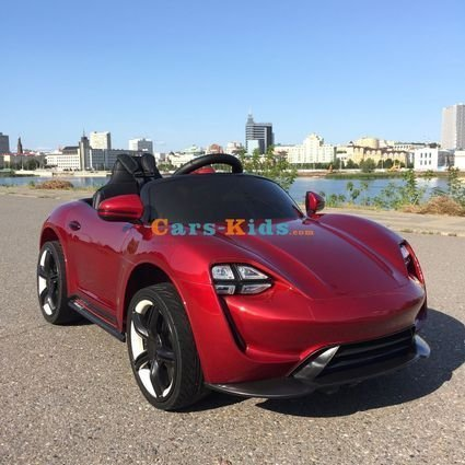 Электромобиль Porsche Sport М777МР красный